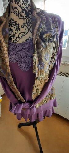 Twin Set tejido púrpura