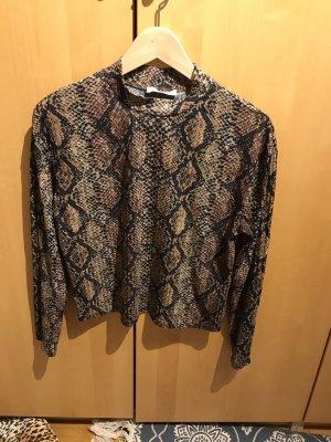 Oberteil / Pullover in Gr.36/S von Zara in braun/ schwarz.