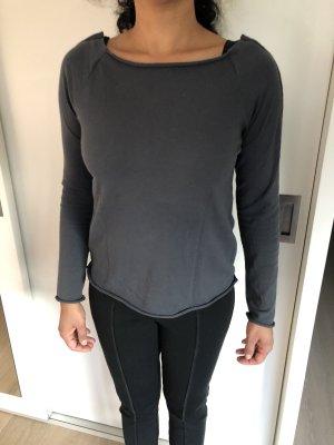 Anette Görtz Kraagloze sweater donkergrijs