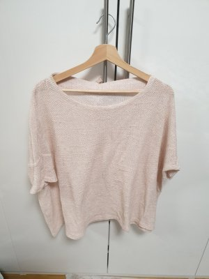Crochet Top rose-gold-coloured