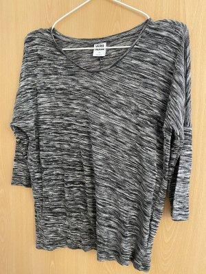 Oberteil, schwarz/weiß/grau, Vero Moda