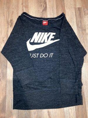Nike One Shoulder Shirt grey-anthracite