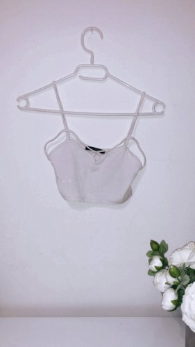 Brandy & Melville Cropped Top white