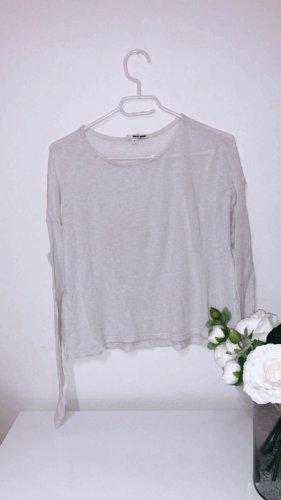 Oberteil shirt top tshirt pulli pulliver sweater sweatshirt weiß