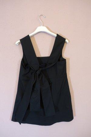 Oberteil, Top, Bluse, COS, mit Schleife am Rücken und breiten Trägern, schwarz, neu!
