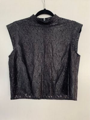 H&M Divided Cut Out Top black
