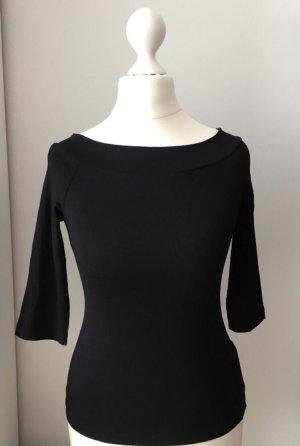 Asos Petite Off-The-Shoulder Top black