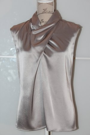 Barbara Schwarzer Sleeveless Blouse silver-colored