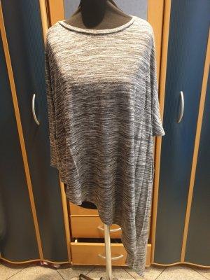 Bershka Shirt Tunic grey