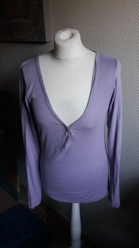 Better Rich Long Shirt purple cotton