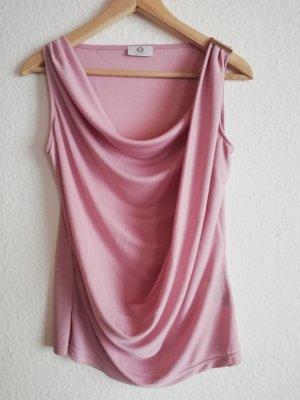 C&A Maglia con scollo a cappuccio rosa chiaro