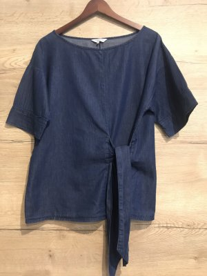 Great plains Blusa vaquera azul oscuro