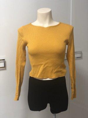 H&M Divided Blusa sin espalda naranja-naranja claro