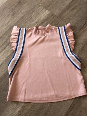 Review Sports Shirt light pink-neon blue