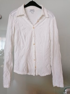 Transit Chaqueta estilo camisa blanco