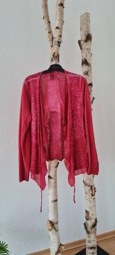 Tredy Camicia a tunica rosso scuro