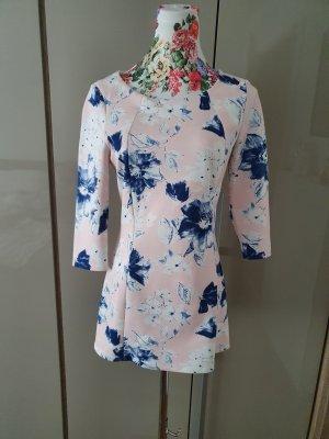 Zara Shirt Dress pink-blue