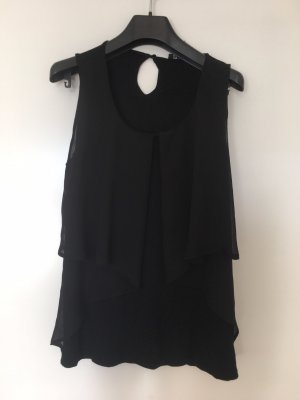 Zara Frill Top black