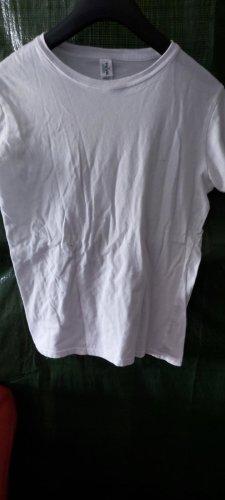 10 Dence T-shirts en mailles tricotées blanc