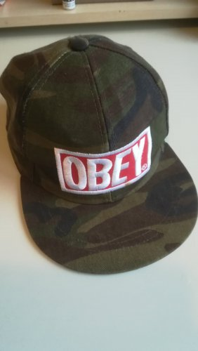 obey Berretto da baseball multicolore