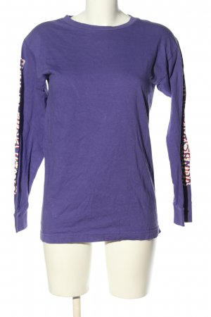 obey Longsleeve lilac themed print casual look