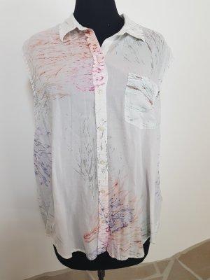 obey N° 89 Bluse abstraktes Muster klassischer Stil