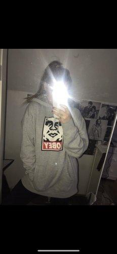 Obey Pullover Original grau