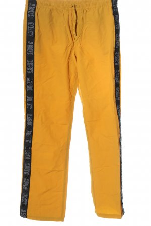 obey Trackies primrose printed lettering athletic style