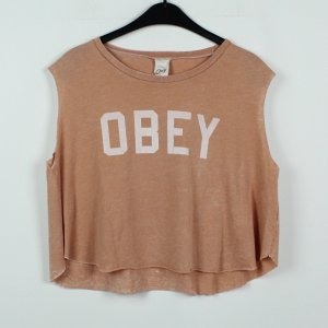 OBEY T-Shirt Gr. S rosa oversized (19/11/169)