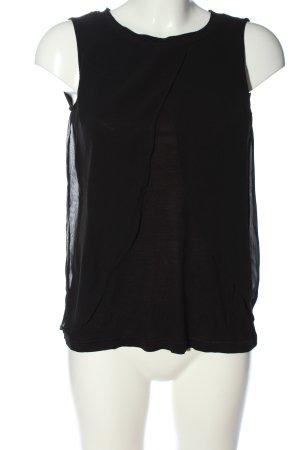 Object Blusa senza maniche nero stile casual