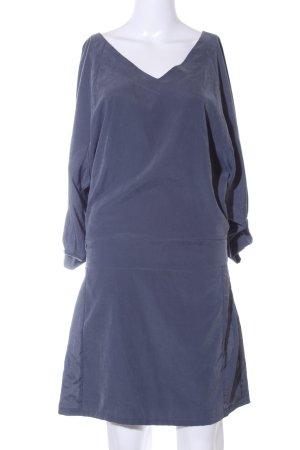 Object Blusenkleid graublau schlichter Stil
