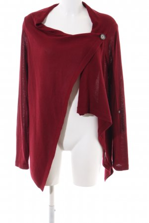 Object Cardigan rot Casual-Look