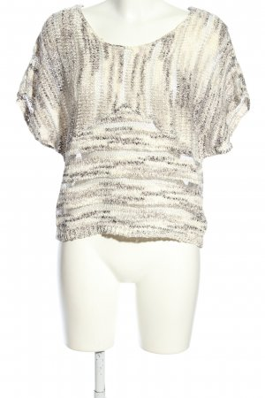 Object Häkelshirt creme Casual-Look