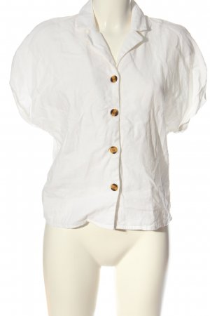 Object Blusa-camisa blanco look casual