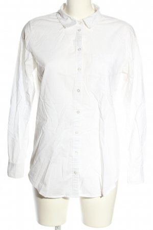Object Hemd-Bluse weiß Casual-Look