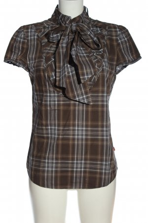 Object Hemd-Bluse Karomuster Casual-Look