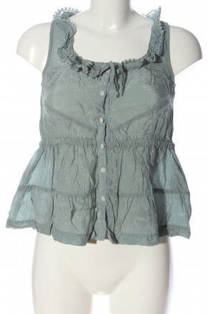 Object Blusa-camisa gris claro look casual