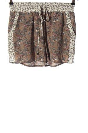 Object Pantalón corto estampado con diseño abstracto look casual
