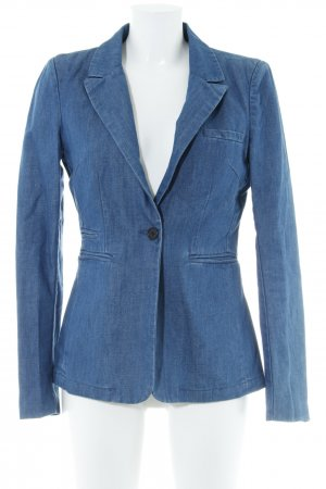 Object Jeansblazer blau Casual-Look