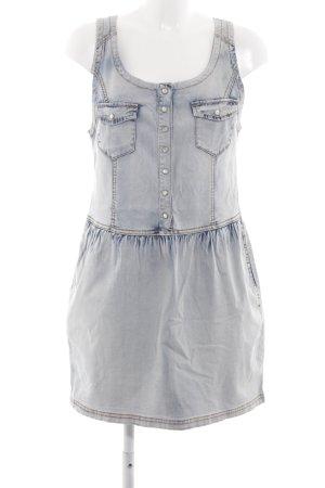Object Jeanskleid blau Farbverlauf Casual-Look