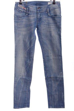 Object Jeansrock blau Casual-Look