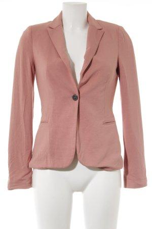 Object Jersey blazer abrikoos zakelijke stijl