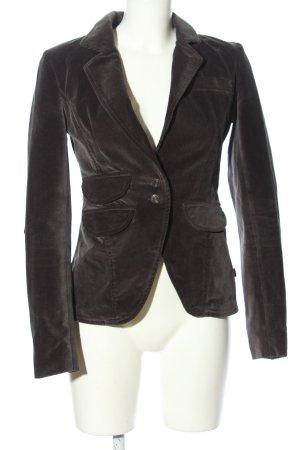 Object Jersey blazer zwart casual uitstraling