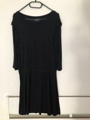 Object Kleid L mit Rüschen schwarz