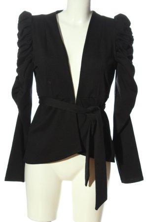 Object Korte blazer zwart elegant