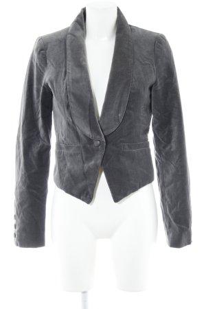 Object Kurz-Blazer grau Business-Look