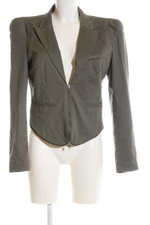 Object Korte blazer khaki zakelijke stijl