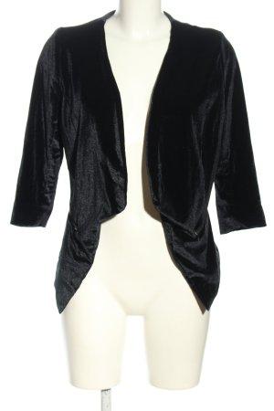 Object Korte blazer zwart casual uitstraling