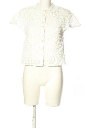 Object Camicetta a maniche corte bianco stile casual