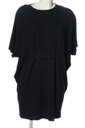 Object Sukienka z krótkim rękawem czarny W stylu casual